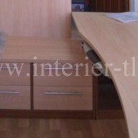 встроенный компьютерный стол