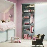 встроенный шкаф купе гардеробная elfa