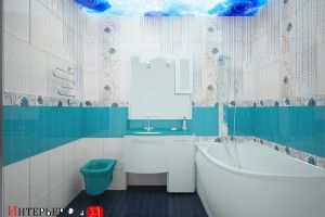дизайн мелогабаритной ванной комнаты