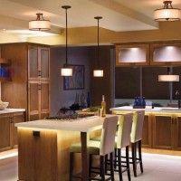 декоративная подсветка в кухне